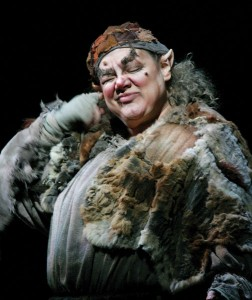 As Jezibaba in Rusalka at the Metropolitan Opera, 2005 - credit Beth Bergman